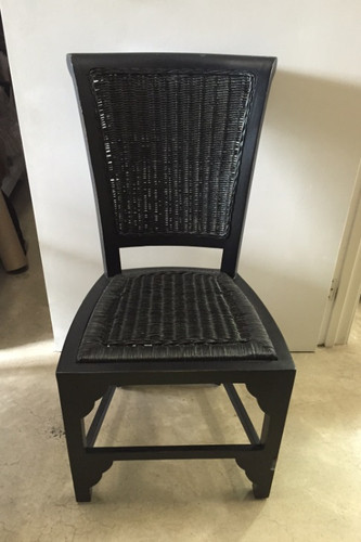 Tatum Dining Chair - Black Light Distressed