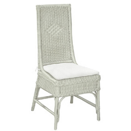 Conservatory Dining Chair - White Light Distressed