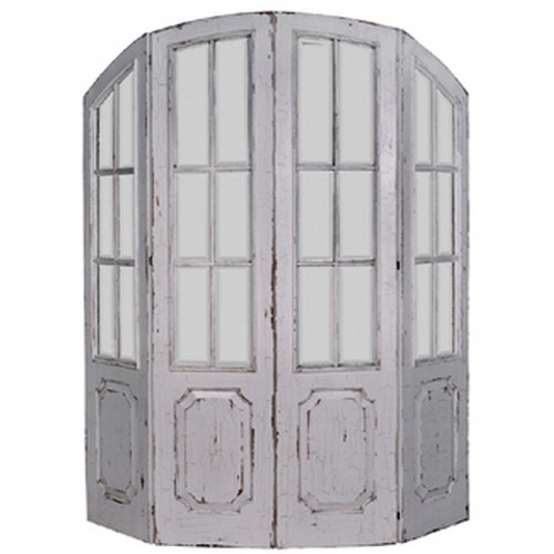 Chateau Divider - White Heavy Distressed /CKL