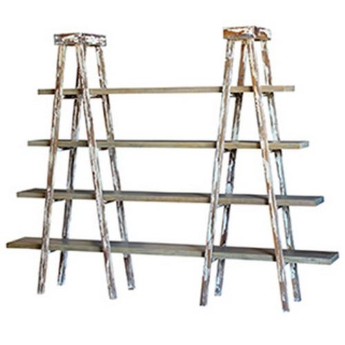 Taylor Double Ladder Shelf - Latte /JJB