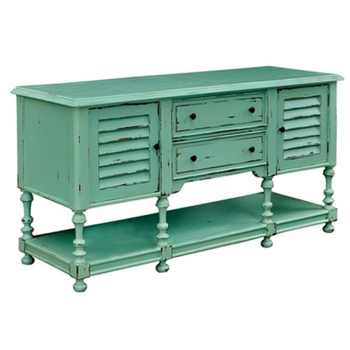 Orleans Vanity - Sea Mist Green Heavy Distressed