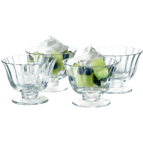 Aspen Coupe Dessert  Bowl - Set of 4