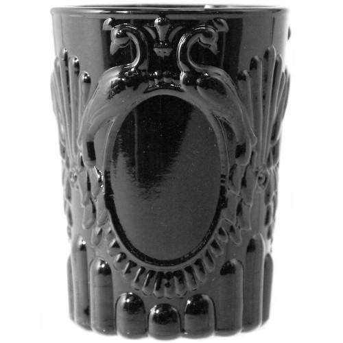 Verona Glass Tumbler 250ml - Set of 6 - Black