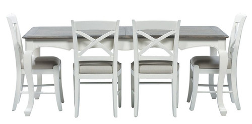 Chateau Ext. Dining Table 290cm White