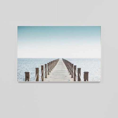 Canvas Print: Pier Walk