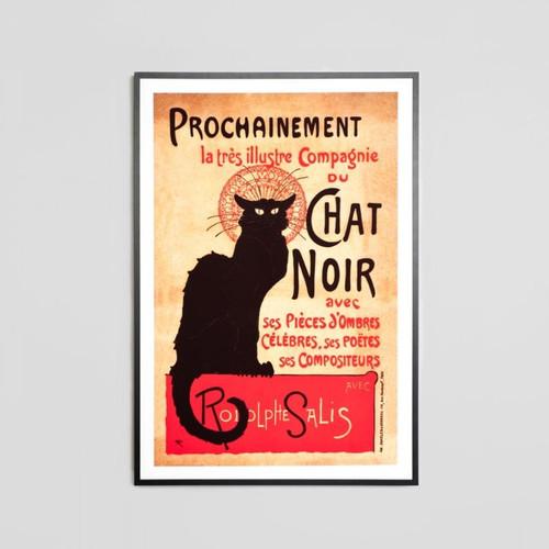 Framed Print: Chat Noir