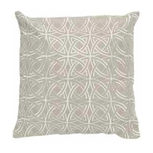 Imogen Circlular Stitch Linen Cushion Medium