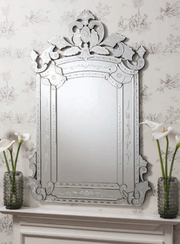 Leyfield Mirror 58x39""