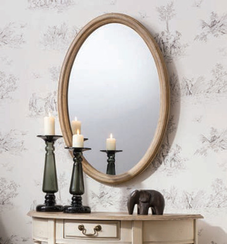 Wiltshire Oval Mirror 31.5x21.5""