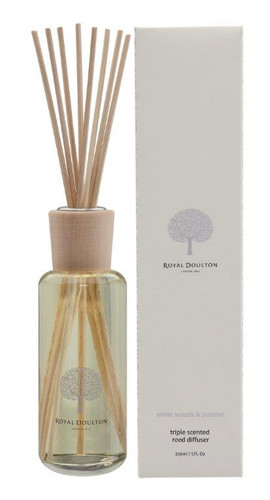 Royal Doulton 150mL Reed Diffuser - White Woods & Jasmine