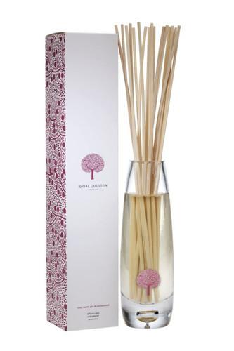 Royal Doulton Reed Diffuser and Vase Set - Rose, Sweet Pea & Sandalwood