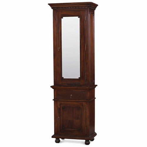 Roosevelt Tall Bath Cabinet w/Mirror - Any Colour