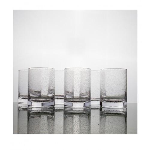 Bubble Highball Tumbler Glass Medium - Set of 6