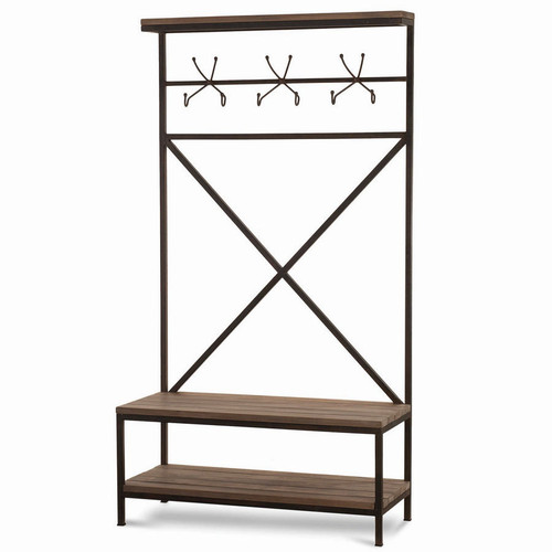 Craftsman Hallstand w/ Bench - Any Colour