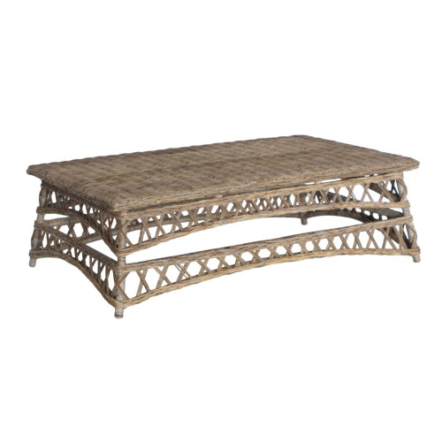 Java Coffee Table - Rattan