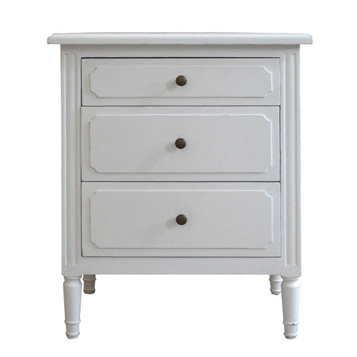 Marcelle 3 Drawer Bedside