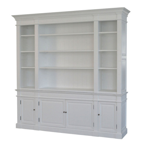 Reims Library Bookcase - White