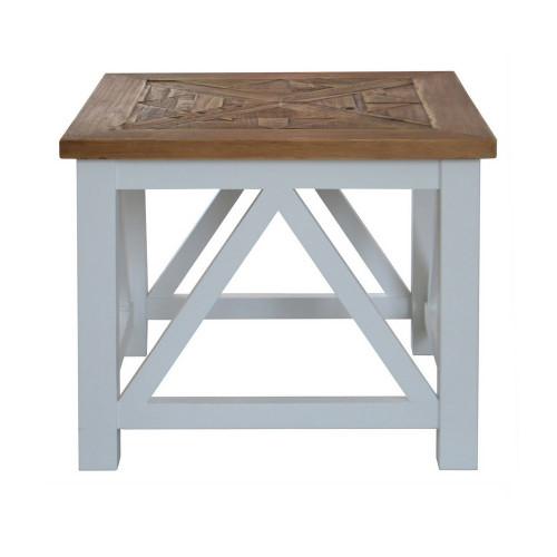 Portside Parquet Side Table