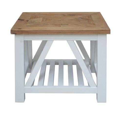 Positano Parquet Side Table