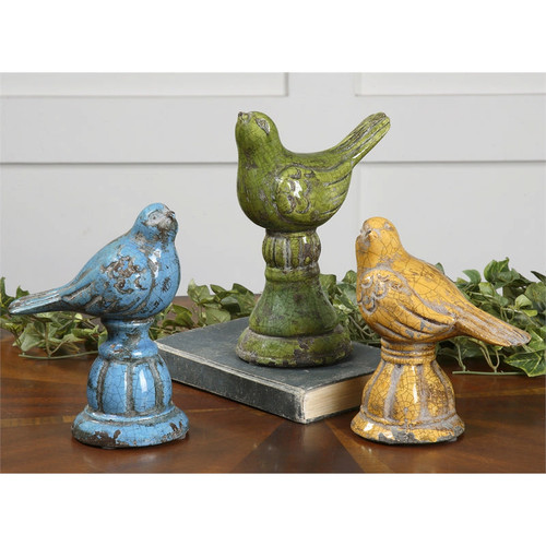 Bird Trio - Set of 3