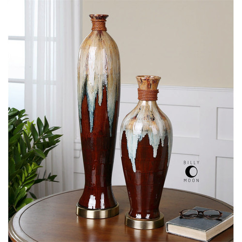 Aegis Vases - Set of 2