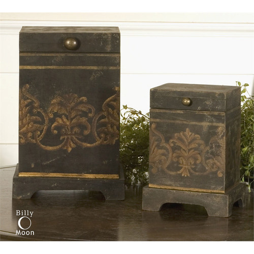 Melani Boxes - Set of 2