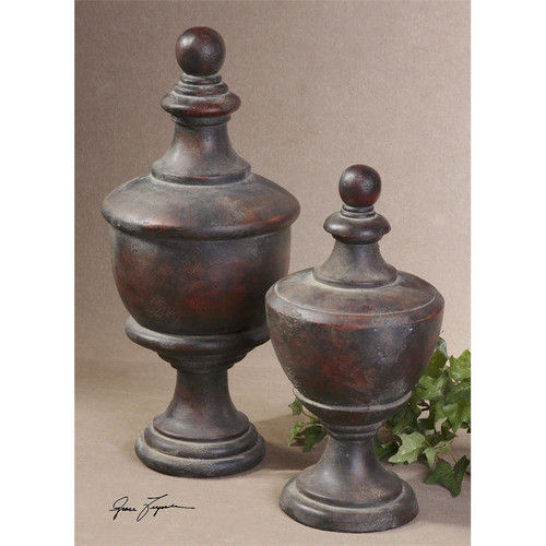 Gracelyn Finials - Set of 2