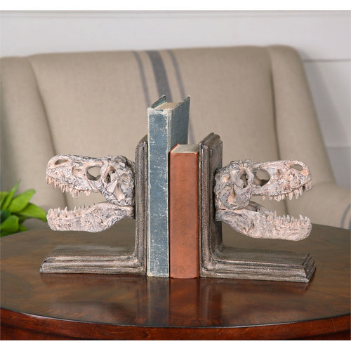 Dinosaur Bookends - Set of 2