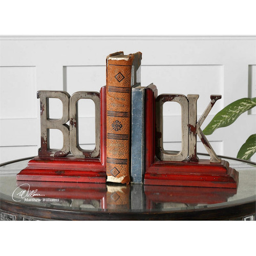 Book Bookends - Set of 2