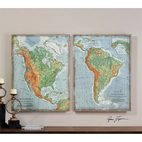 The Americas Set of 2