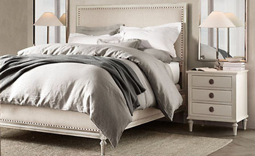 Bordeaux King Bed Suite Package (A/White)