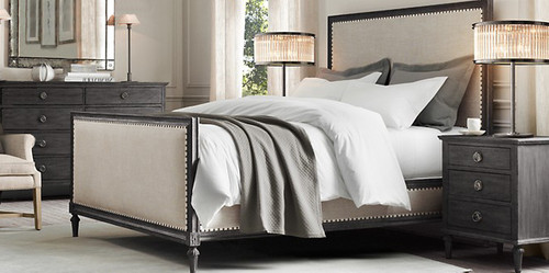Bordeaux King Bed Suite Package (Black Oak)
