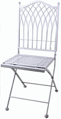 Vienna Outdoor Foldable Chair - Grey
