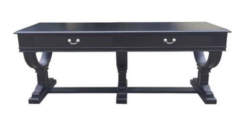 Provencal 2 Drawer Console - Black
