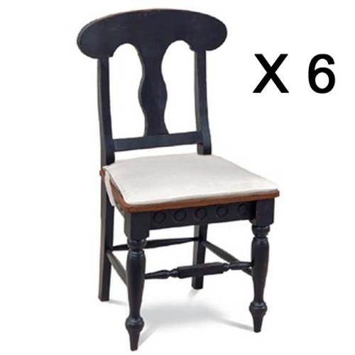 Richmond Dining Chair - Black /AHM (6 pack)