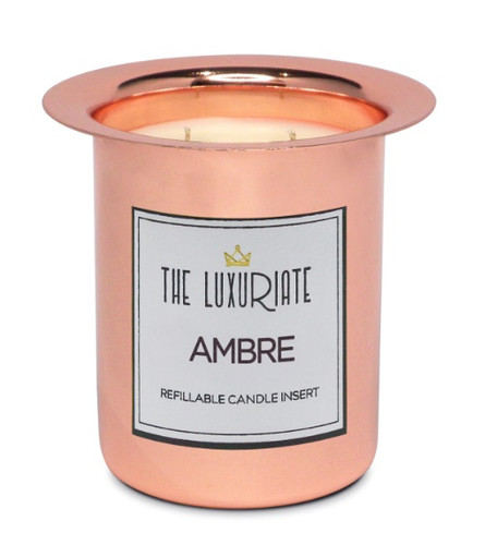 Luxuriate Ambre Candle Insert