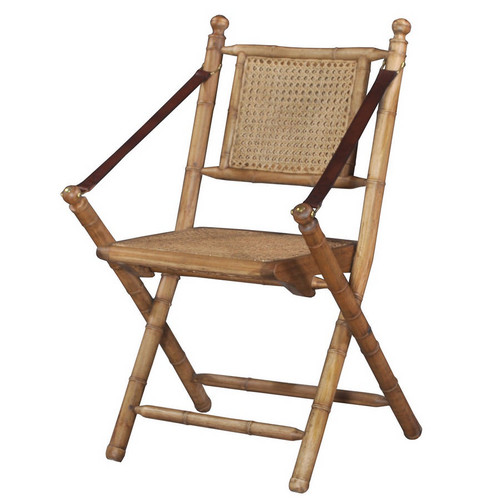 Martinique Bamboo Folding Chair
