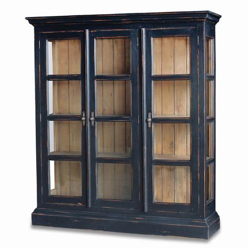 Ashton 3 Door Display Cabinet - Size: 180H x 163W x 46D (cm)