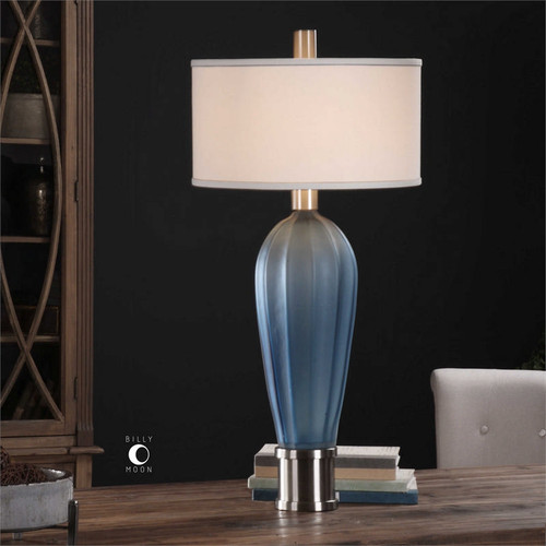 Milena Blue Table Lamp by Uttermost