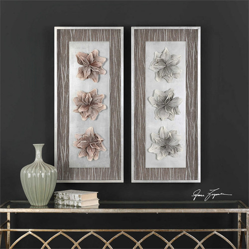 Adrienn Shadow Box Set/2 Wall Decor