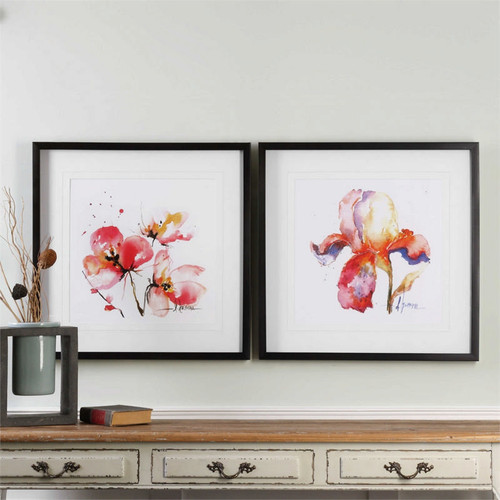 Blooms Hermanas Set/2 - Framed Artwork