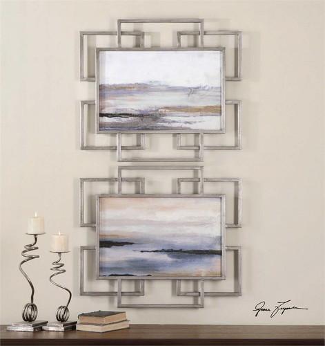 Gray Mist Set/2 - Oil Reproduction Artwork