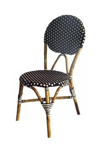 Bistro Chair - Black & White
