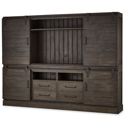 Sonoma 4 Door Sliding Cabinet - Any Colour