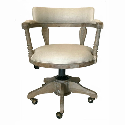 Admiral Office Chair - Washed Oak