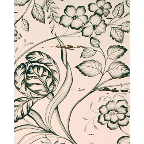 A14 Black Floral Artwork