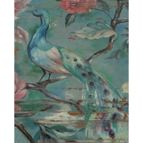 A485 Peacock Artwork