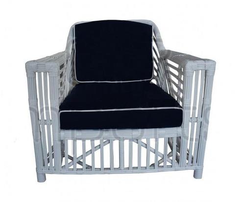 Ballina Arm Chair - White