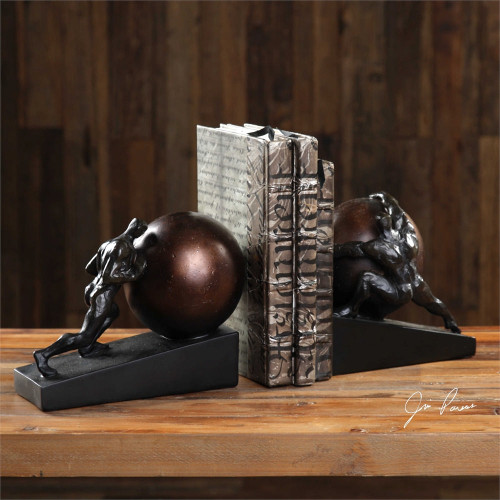 Weight of the World Bookends Set/2