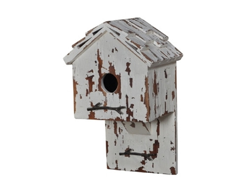 Bird House H - Hand-crafted